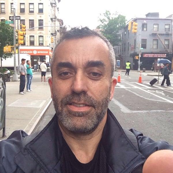 Photo taken at Manhattan Barber Shop by Fernando B. on 5/23/2014
