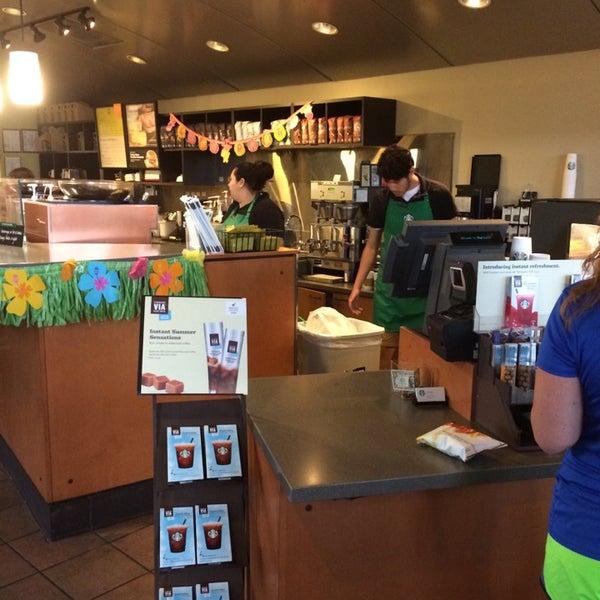 Photo taken at Starbucks by Brian W. on 5/9/2014