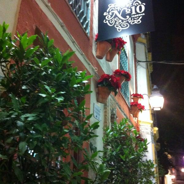 Foto tomada en Taberna El Nº 10 por DimensionChef W. el 12/26/2012