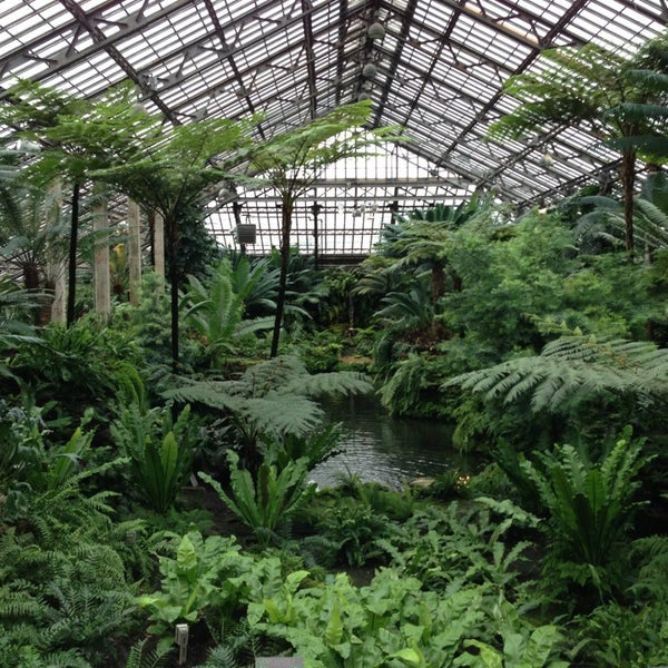 Photo taken at Garfield Park Conservatory by Bob A. on 2/23/2013