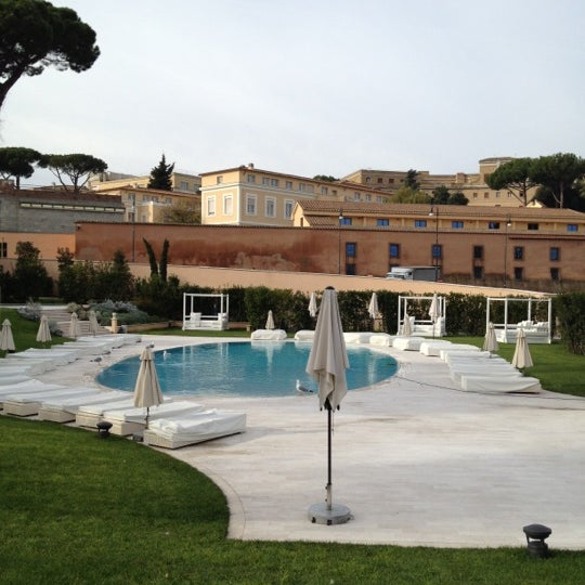 Gran meli rome hotel in roma for Gran melia roma