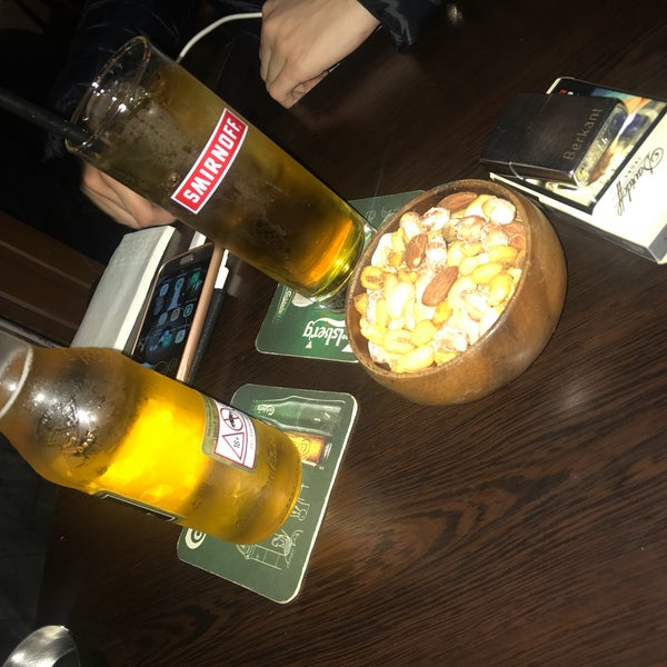 Photo taken at Millwall English Pub by Berkant Ö. on 10/24/2017