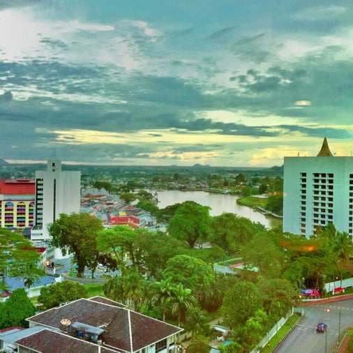 Photo taken at Pullman Kuching by John T. on 12/23/2012