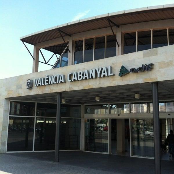 Photo taken at Estació de Tren - València-Cabanyal by Jaime V. on 2/16/2013