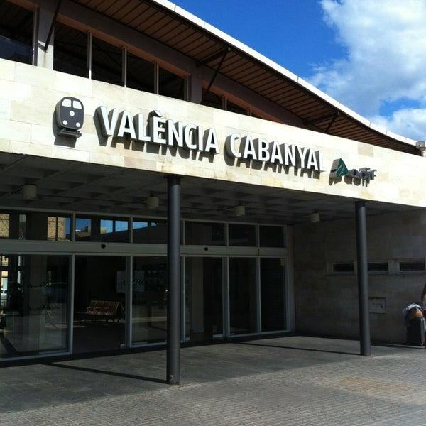 Photo taken at Estació de Tren - València-Cabanyal by Jaime V. on 5/31/2013