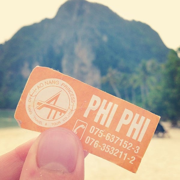 Photo taken at Phi Phi Island by Ragnar O. on 2/24/2013