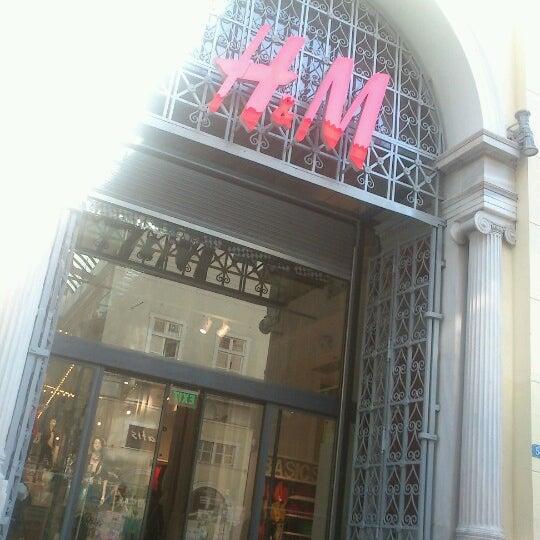 Photo taken at H&M by Chris F. on 12/12/2012