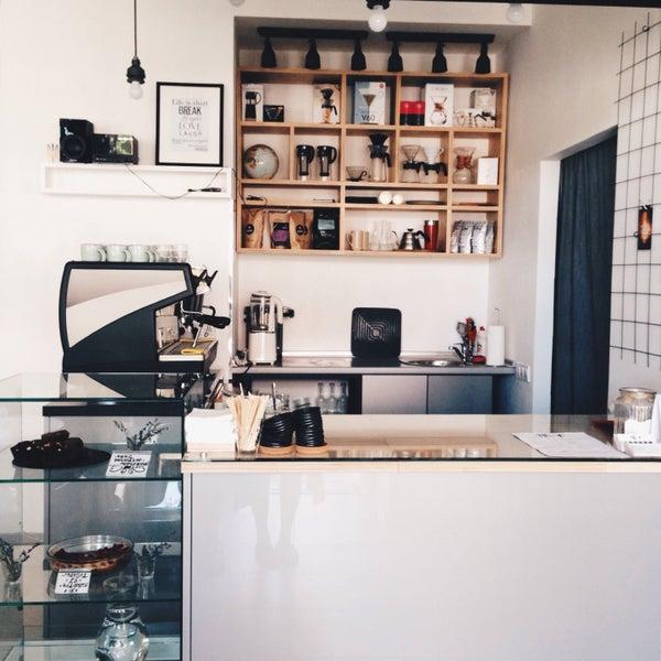 Снимок сделан в First Point Espresso Bar пользователем Nastya P. 7/19/2015
