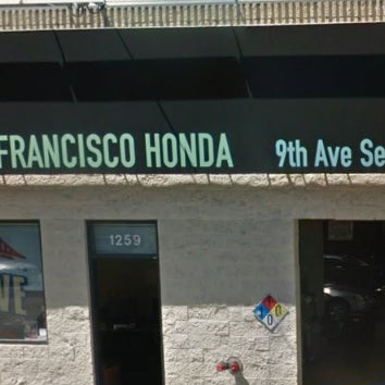 Photo Taken At San Francisco Honda 9th Ave. Service Center By San Francisco  Honda 9th