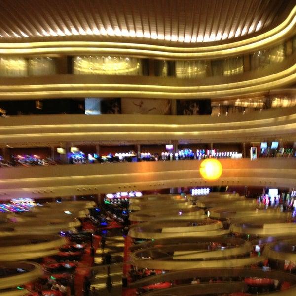 Photo taken at Marina Bay Sands Casino by Jennifer P. on 3/21/2013