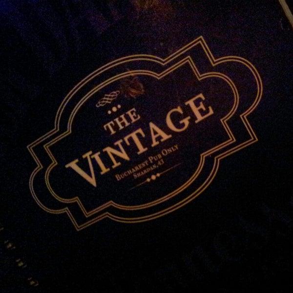 Photo taken at The Vintage Pub by Alex D. on 1/6/2013