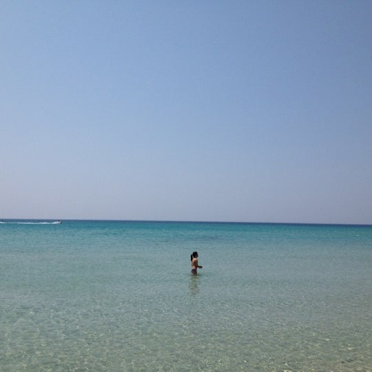 Photo taken at Ramo Beach by nuray s. on 7/11/2012