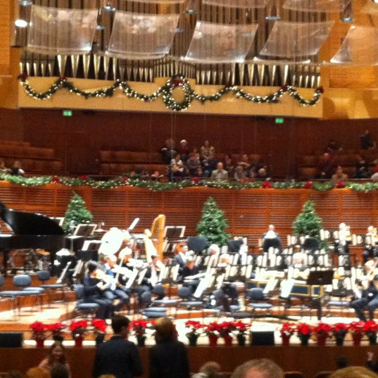 Photo taken at Louise M. Davies Symphony Hall by Cesare R. on 12/15/2012