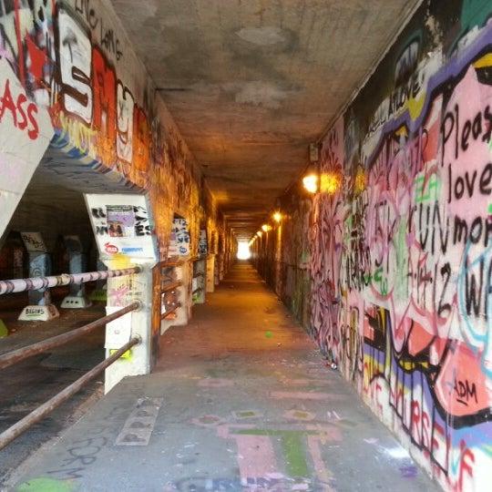 Photo taken at Krog Street Tunnel by Jeff B. on 11/24/2012