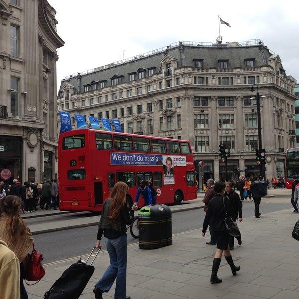 Photo taken at Oxford Street by Favio A. on 5/8/2013