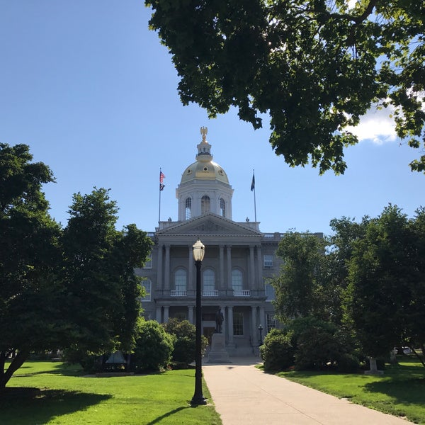 Photo taken at New Hampshire State House by Archie R. on 7/16/2017