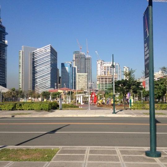 Photo taken at Bonifacio High Playground by Joel M. on 11/24/2012