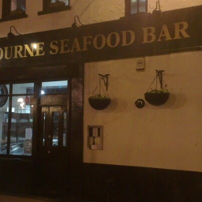 Photo taken at Mourne Seafood Bar by Rob C. on 1/16/2013