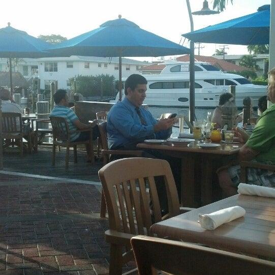 Photo taken at Bimini Boatyard Bar & Grill by Lawrence W. on 4/24/2013