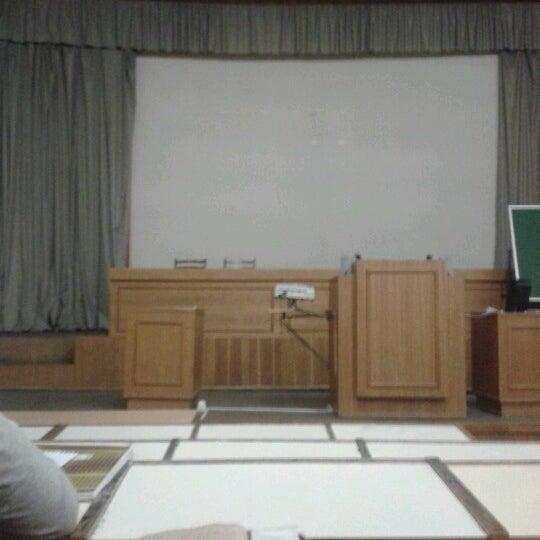 Снимок сделан в Международный университет «МИТСО» пользователем Танечка Т. 12/12/2012