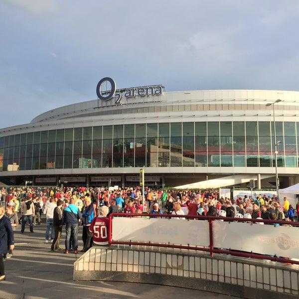 Photo taken at O2 arena by Kas.par?s on 5/6/2015