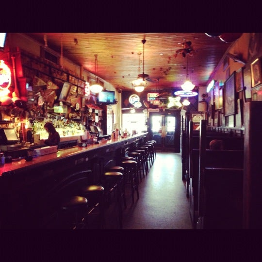 Photo taken at Manuel's Tavern by Steph M. on 11/21/2012
