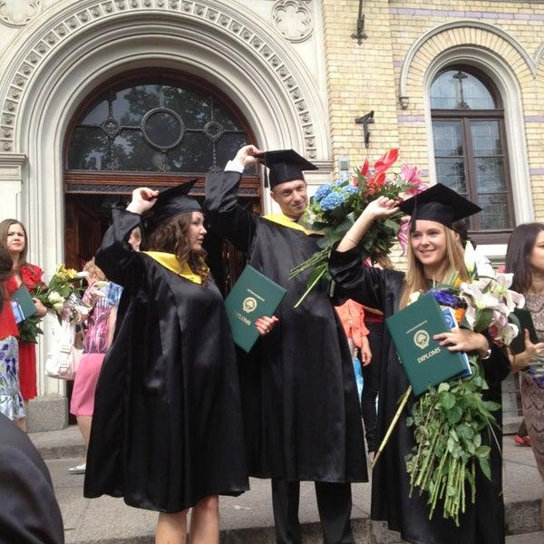Photo taken at University of Latvia by Parmenides P. on 6/20/2013