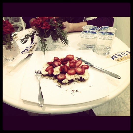 Foto tirada no(a) Waffle Edem por Hande G. em 12/10/2012