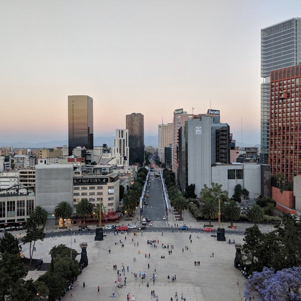 Das Foto wurde bei Mirador Monumento a la Revolución Mexicana von Jace B. am 4/2/2018 aufgenommen
