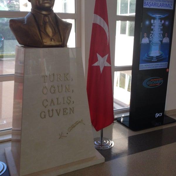 5/26/2015 tarihinde Tuba B.ziyaretçi tarafından Sarıyer Evyap Koleji'de çekilen fotoğraf