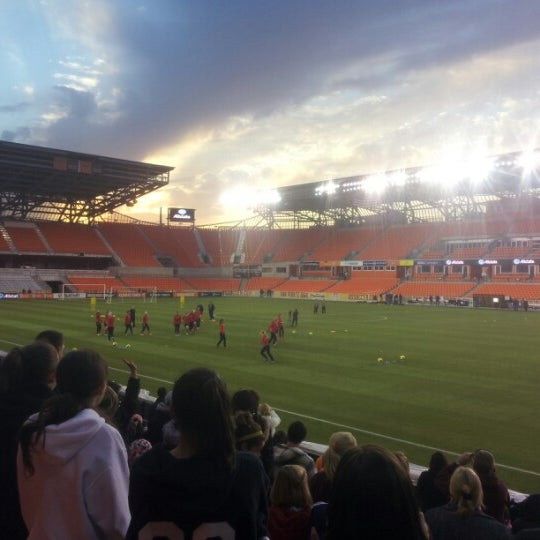 Photo prise au BBVA Compass Stadium par mark m. le12/11/2012