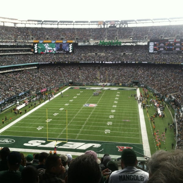 Photo taken at MetLife Stadium by Zachary L. on 10/13/2013