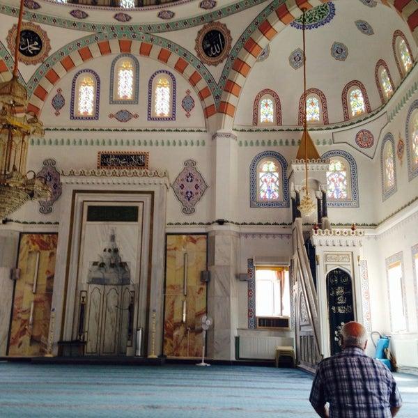 Photo taken at Hatuniye Camii by Emre A. on 7/13/2014