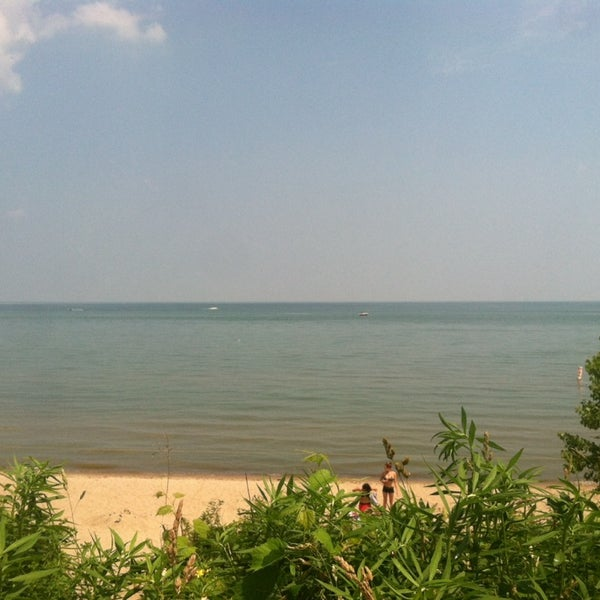 Photo taken at Durand Eastman Beach by Trish L. on 6/29/2014