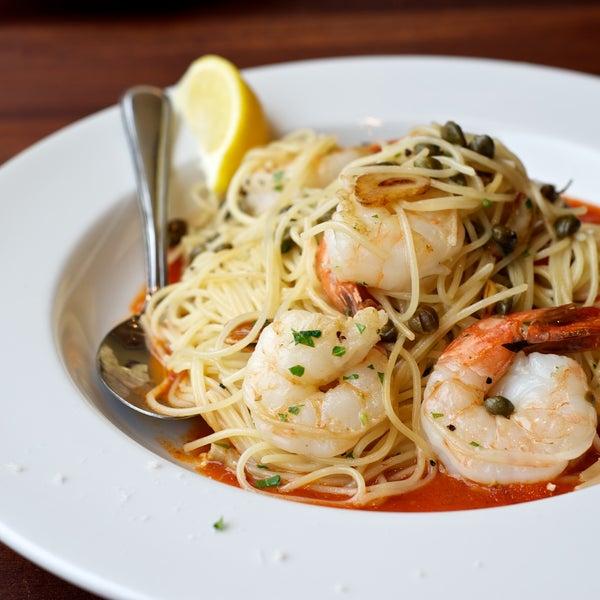 The Shrimp Capellini is delicious!