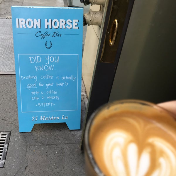 Photo taken at Iron Horse Coffee Bar by Chad S. on 3/23/2017