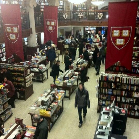 Photo taken at Harvard Coop Society Bookstore by MennatAllah G. on 2/18/2012
