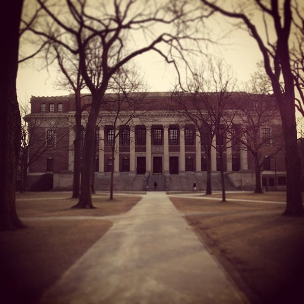 Photo taken at Widener Library by gina g. on 1/25/2013