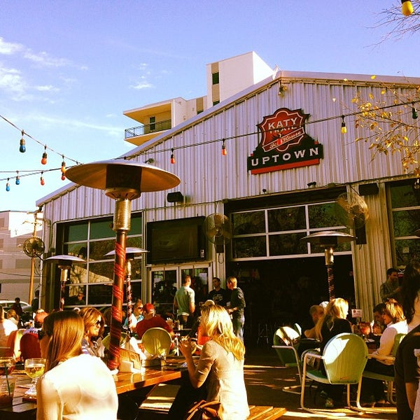 Photo taken at Katy Trail Ice House by Colin G. on 12/16/2012