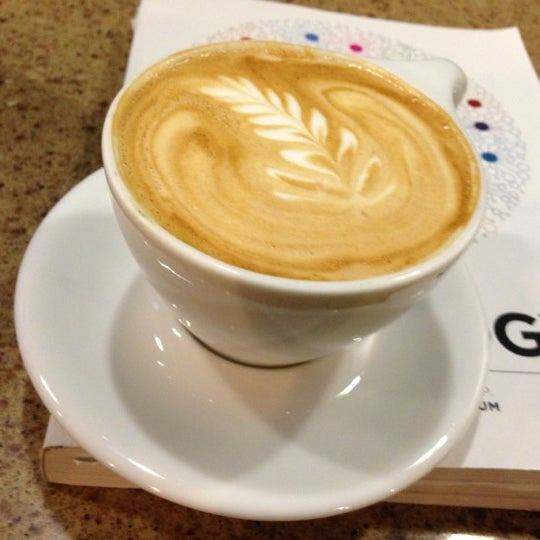 Photo taken at Avoca Coffee by Elizabeth L. on 12/5/2012