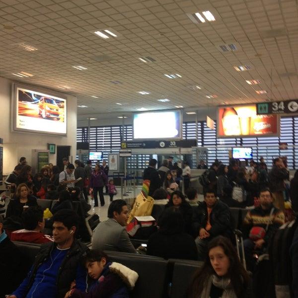 sala gate 35 puerta de embarque del aeropuerto en mexico