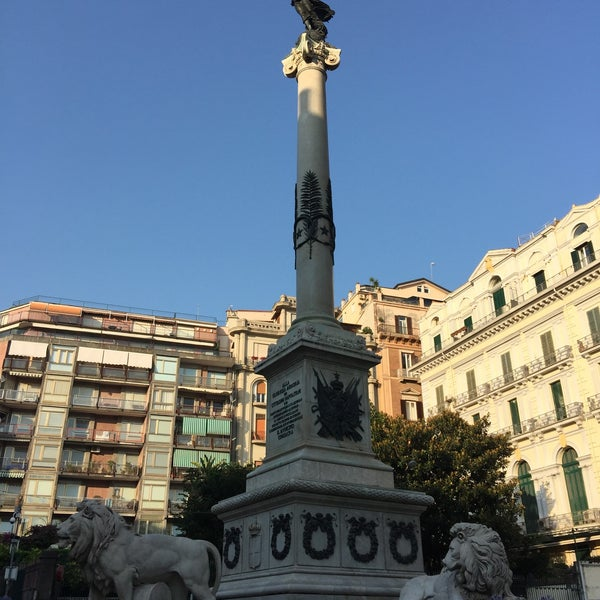 Photo taken at Piazza dei Martiri by Alex E. on 7/15/2015