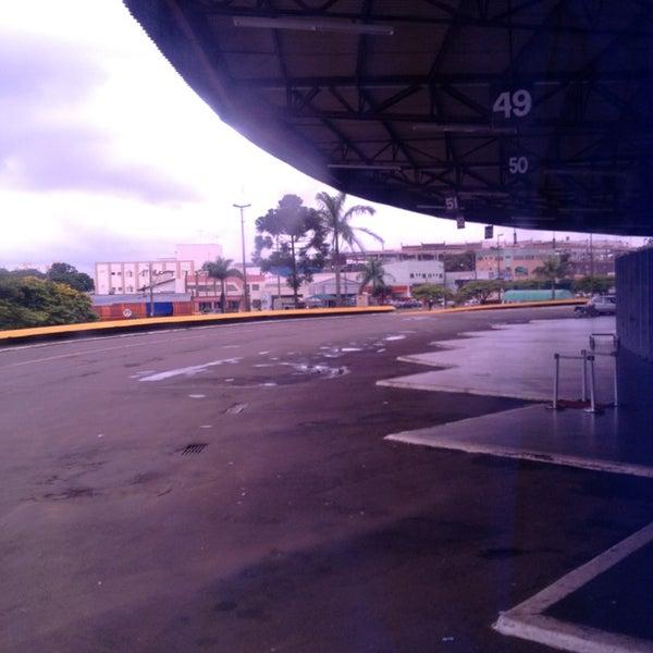 Photo taken at Terminal Rodoviário José Garcia Villar by Daniel O. on 1/9/2013