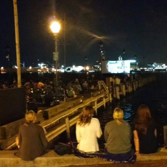 Photo taken at Broadway Pier by Michael D. on 7/31/2014