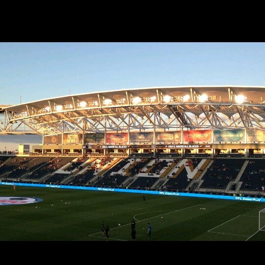 Photo taken at Talen Energy Stadium by Man_Used👽👾👽 on 9/15/2013