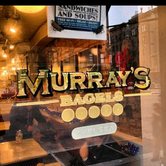 Photo taken at Murray's Bagels by Man_Used👽👾👽 on 8/28/2013