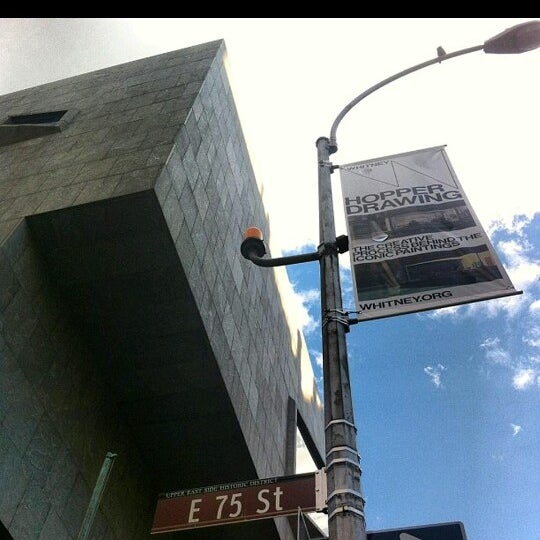 Photo taken at Whitney Museum of American Art by Man_Used👽👾👽 on 8/13/2013