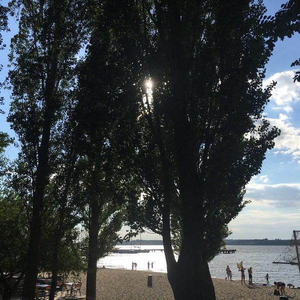 Photo taken at Пляж в Октябрьском by Irene A. on 11/5/2017