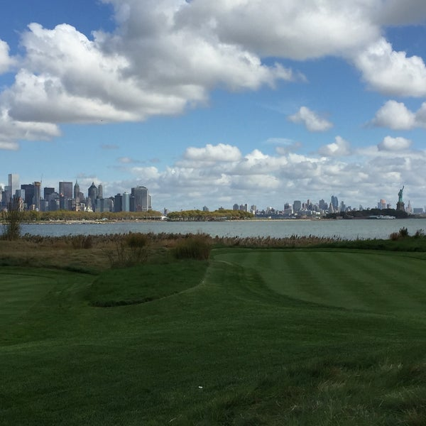 Photo taken at Liberty National Golf Course by Athar K. on 10/5/2015