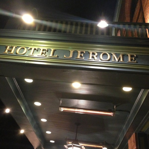 Photo taken at Hotel Jerome by Brian on 12/24/2012